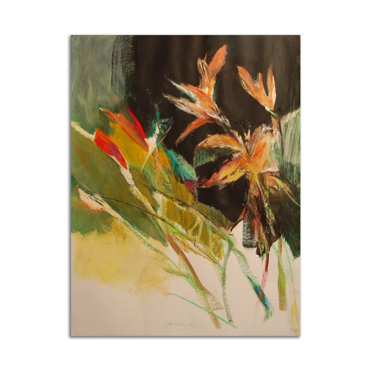 New Tiger Lilies by Jane Parker