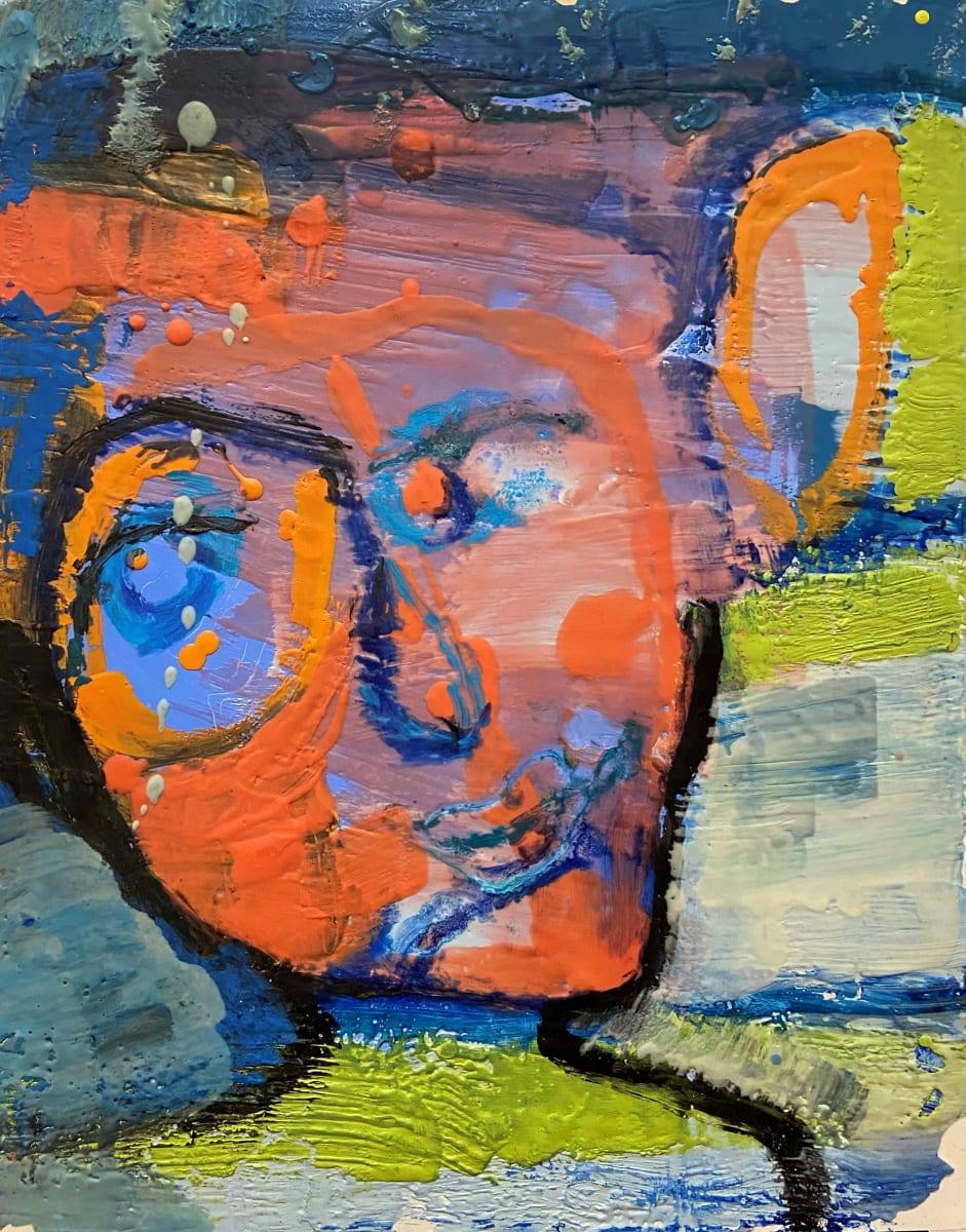 Orange Ear by Stephanie Cramer