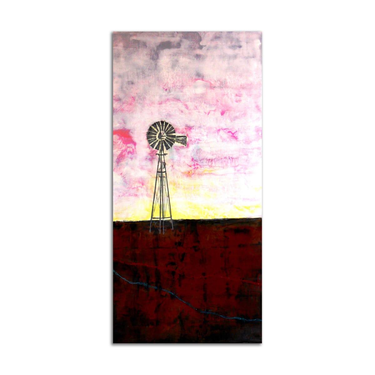 Purple Windmill by T.D. Scott
