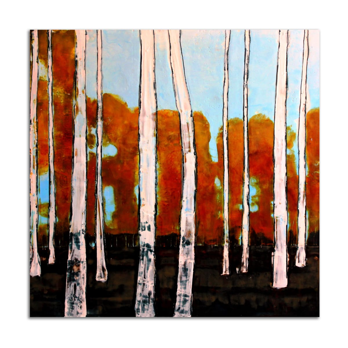 Stand Birch I by T.D. Scott