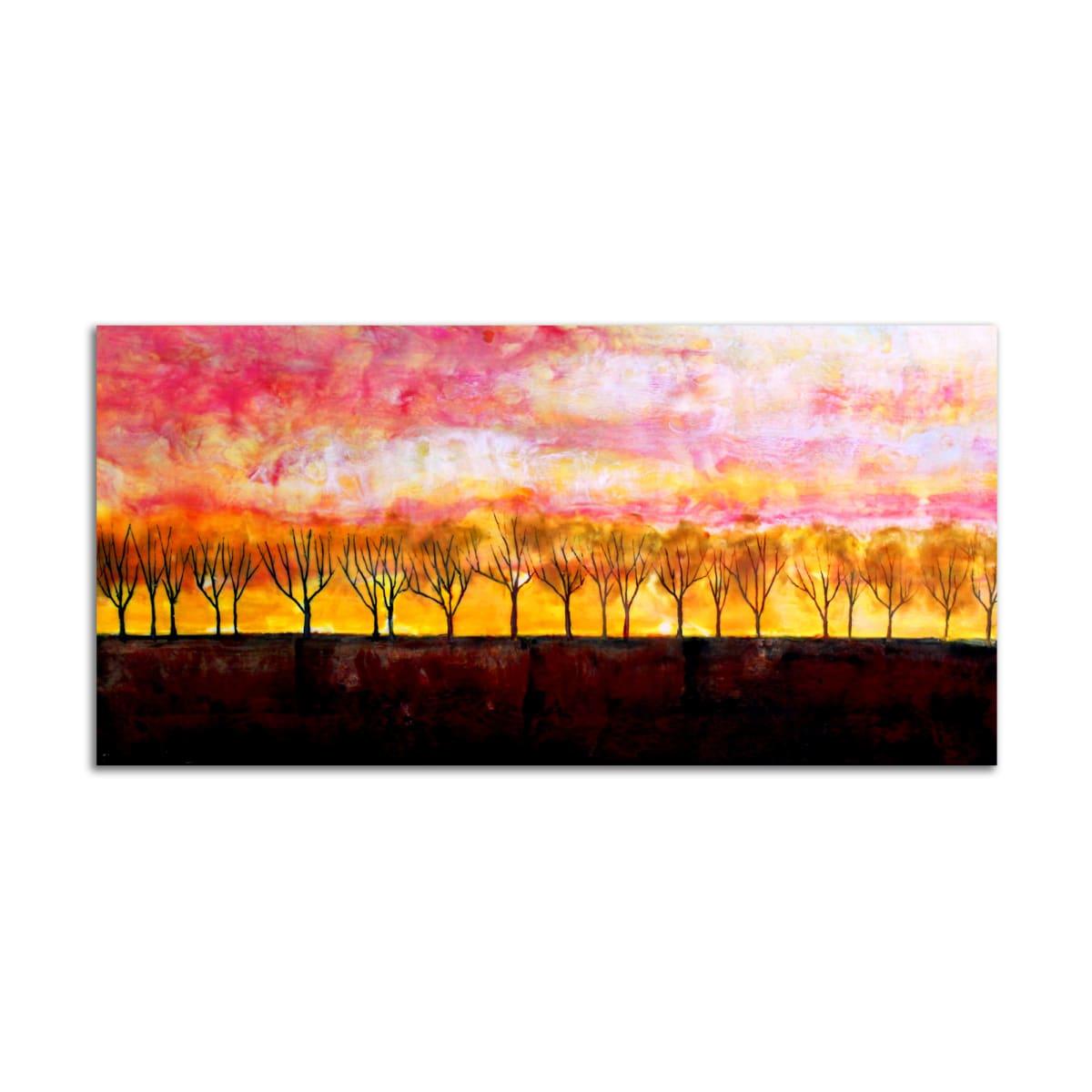 Sunset Trees by T.D. Scott