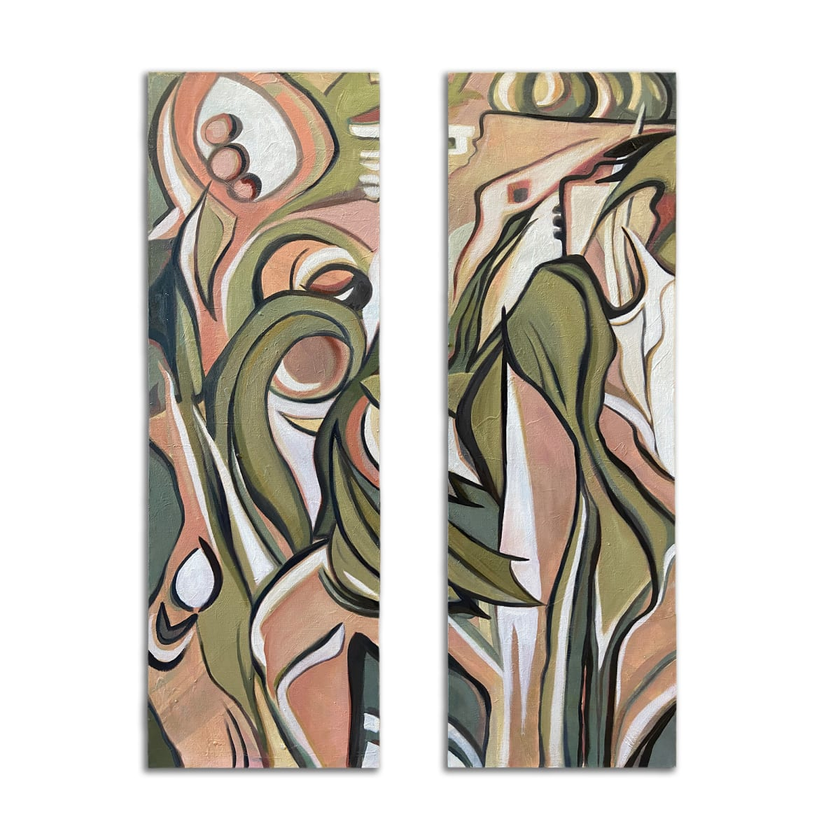Symbiosis: After Lee Krasner's Birth (1956) by Christie Snelson