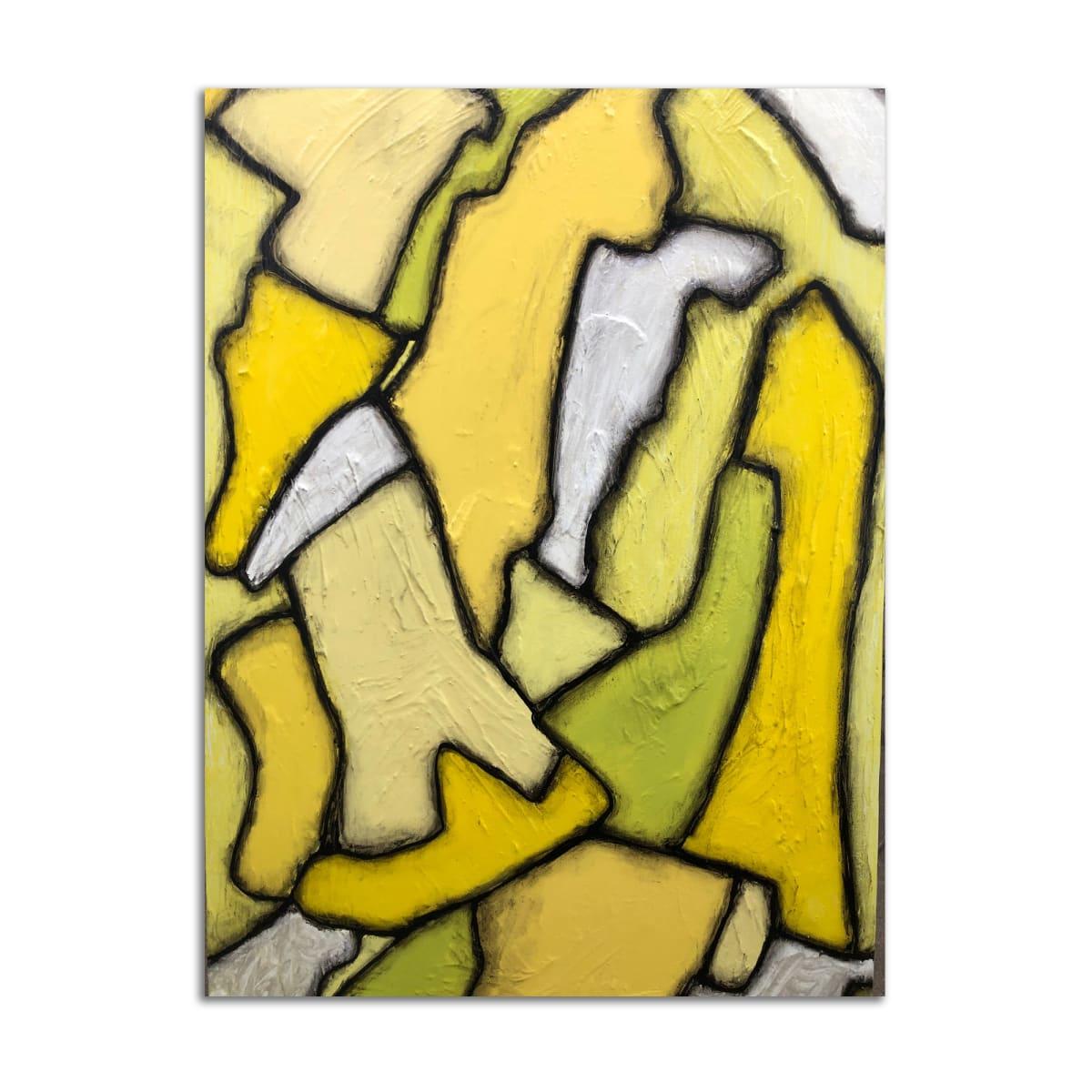 Yellow Car by Dustin Burgert