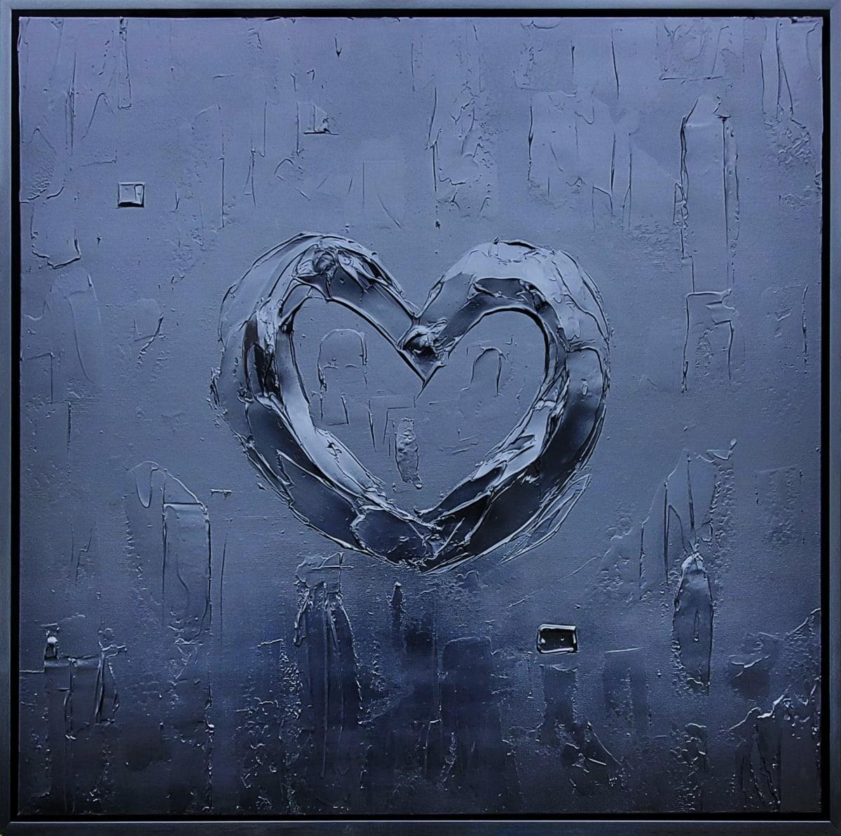 BLACK BOLD HEART by Tariq Mix