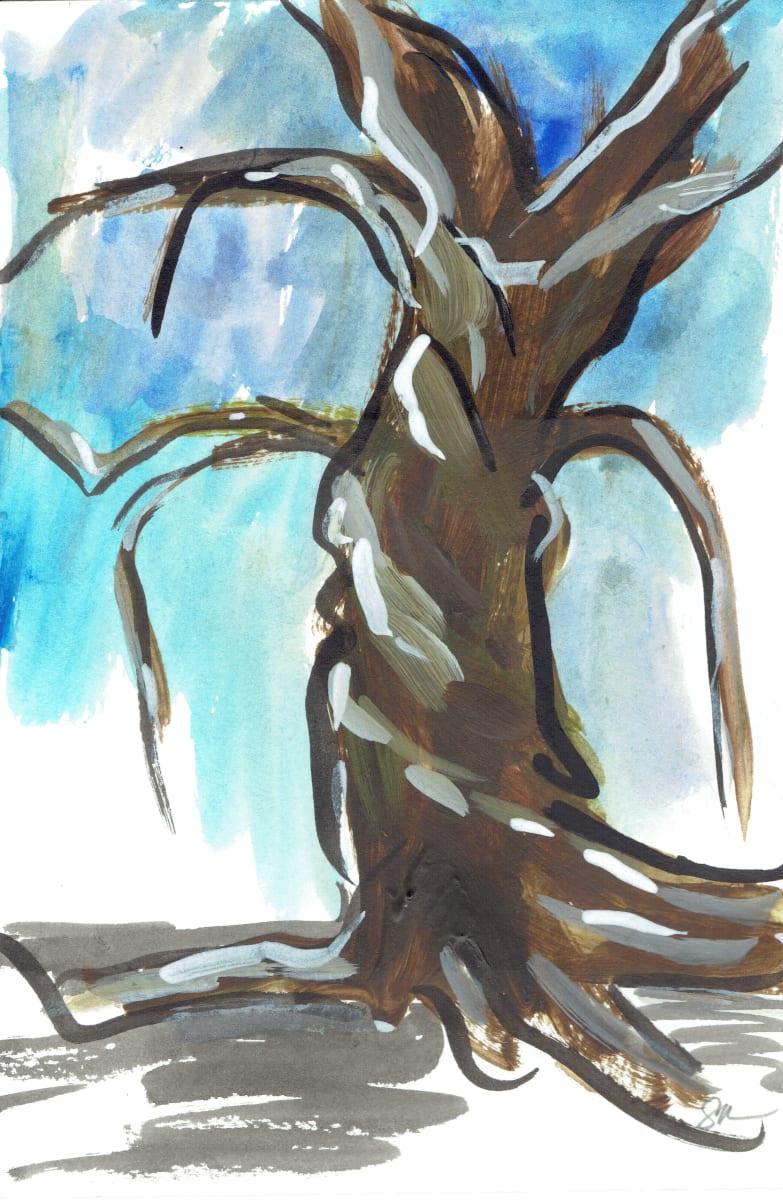 Bare Tree I by Sonya Kleshik