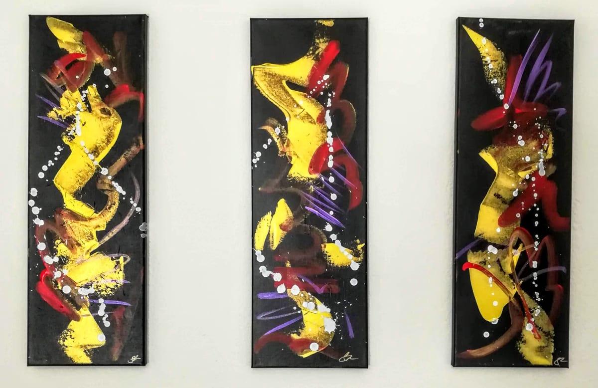 Golden Triad by Sonya Kleshik