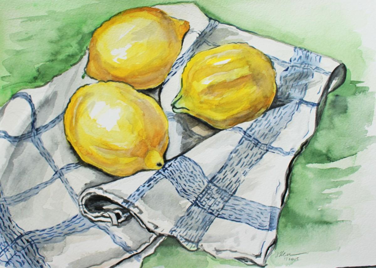 Lemons by Sonya Kleshik