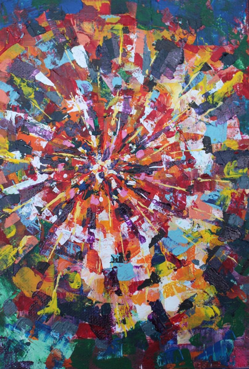 Radial Kaleidoscope by Sonya Kleshik