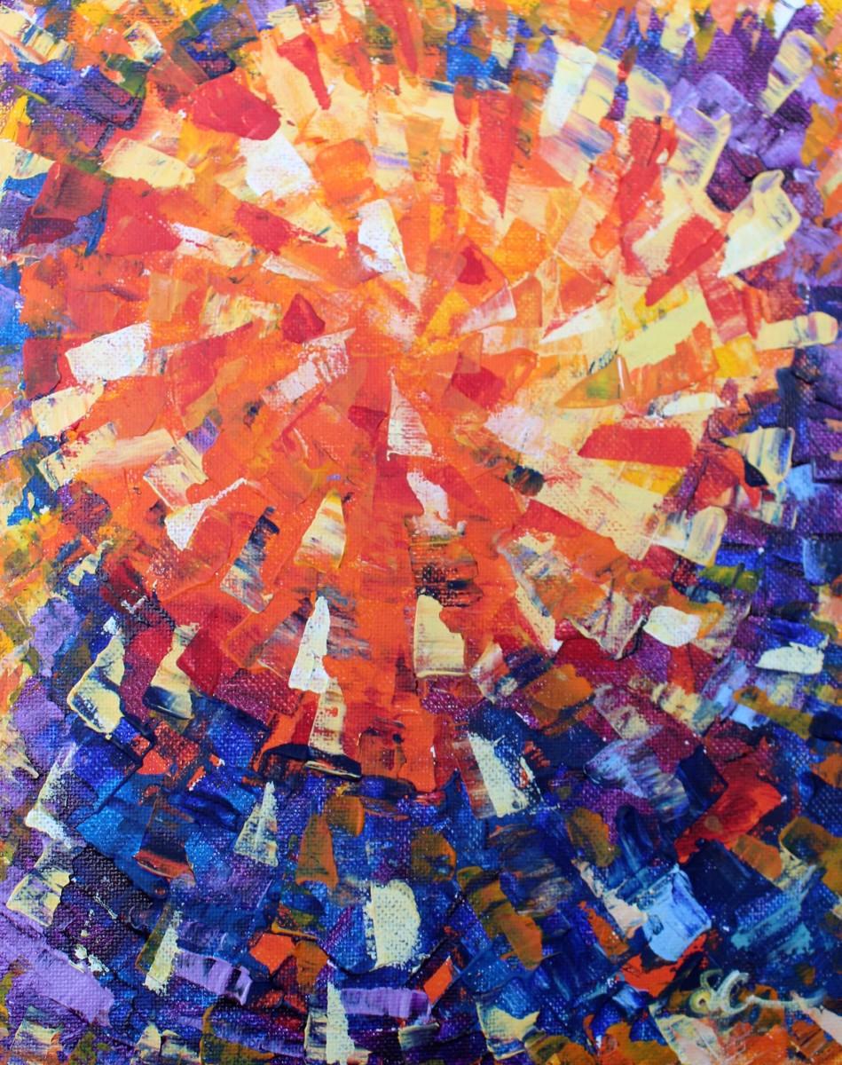 Sunbeams by Sonya Kleshik