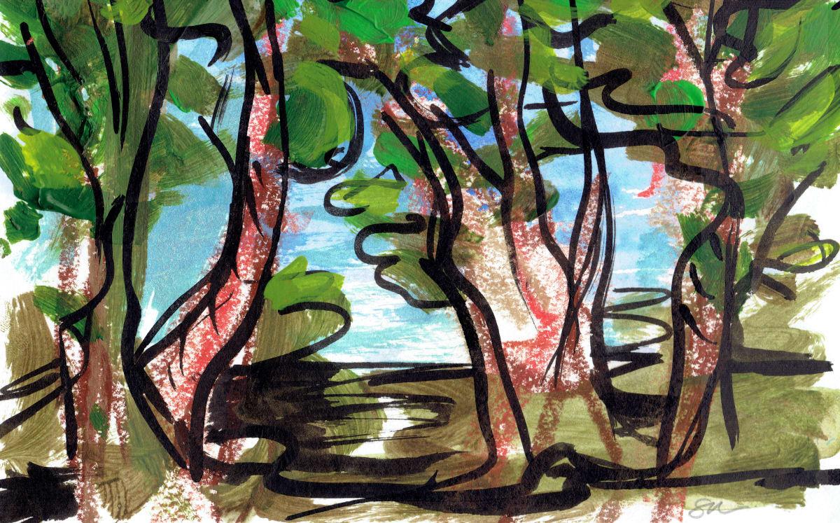 Redwoods IV by Sonya Kleshik