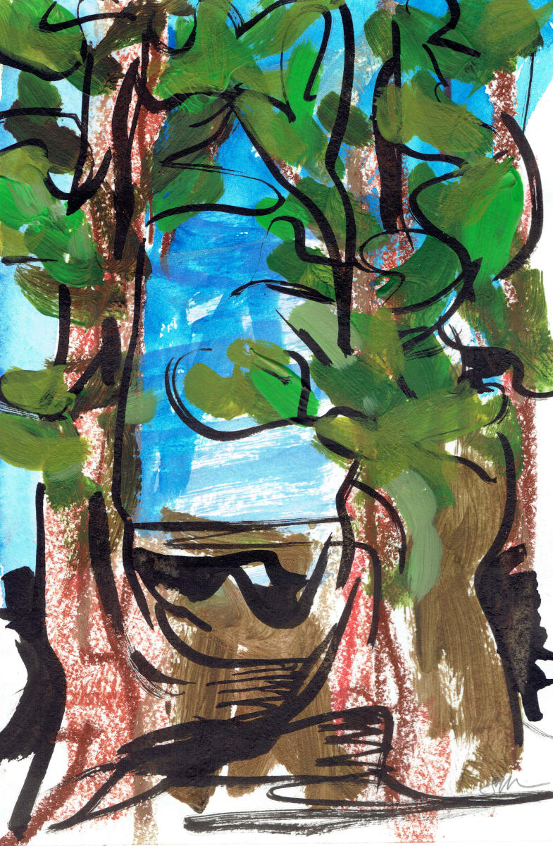 Redwoods IX by Sonya Kleshik