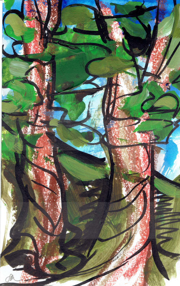 Redwoods I by Sonya Kleshik