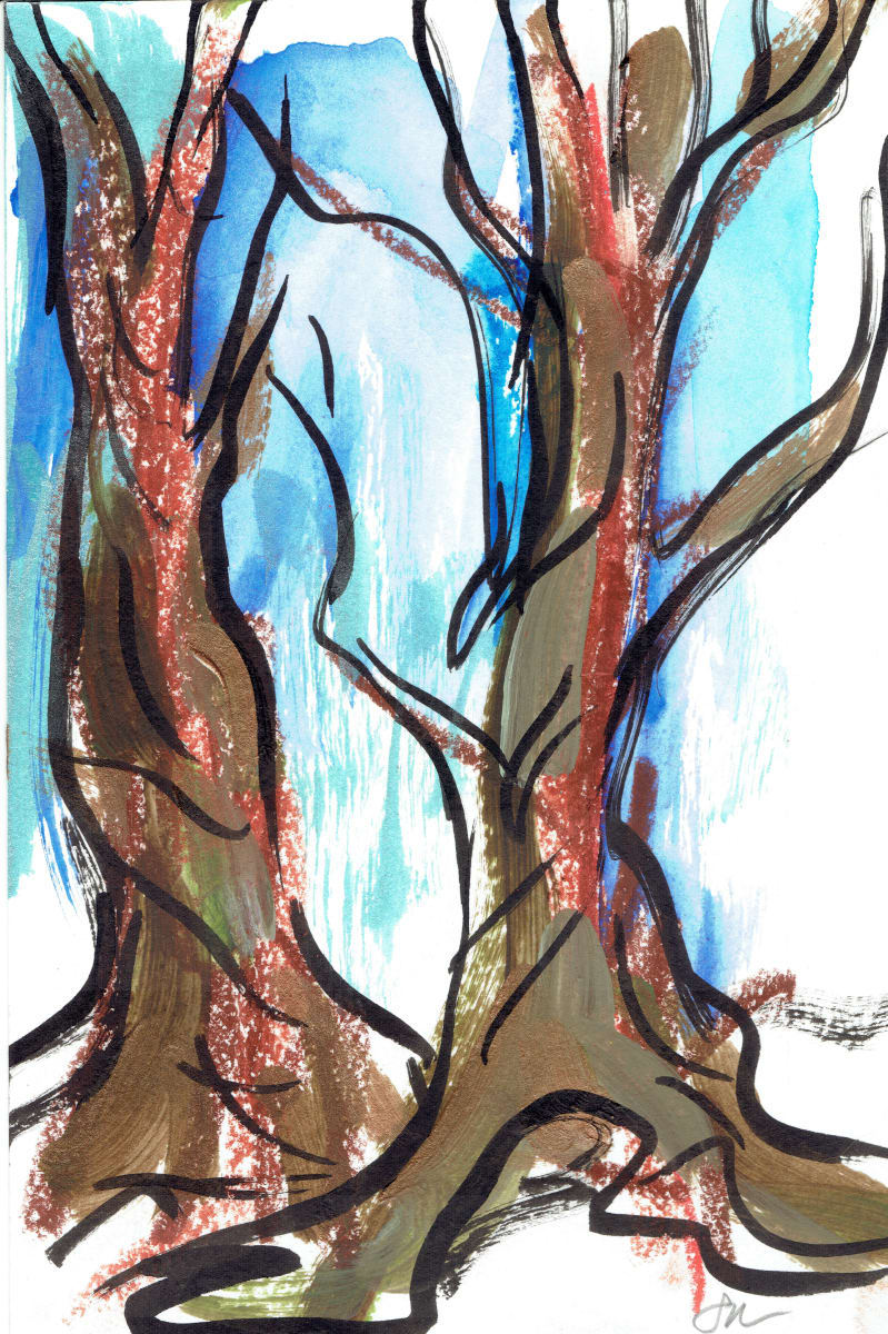 Redwoods VI by Sonya Kleshik