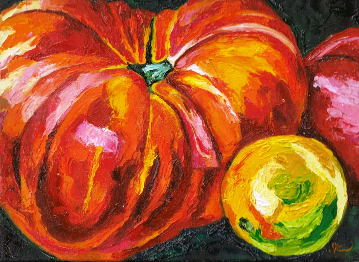 Tomatoes by Sonya Kleshik