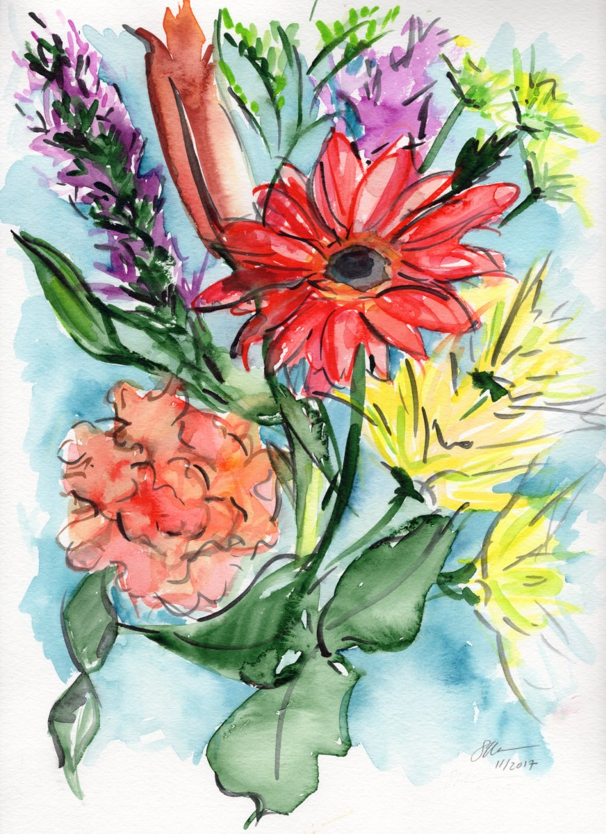 Fresh Bouquet by Sonya Kleshik