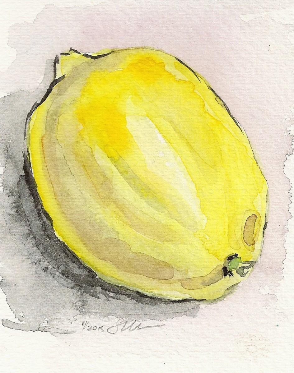 Lemon II by Sonya Kleshik