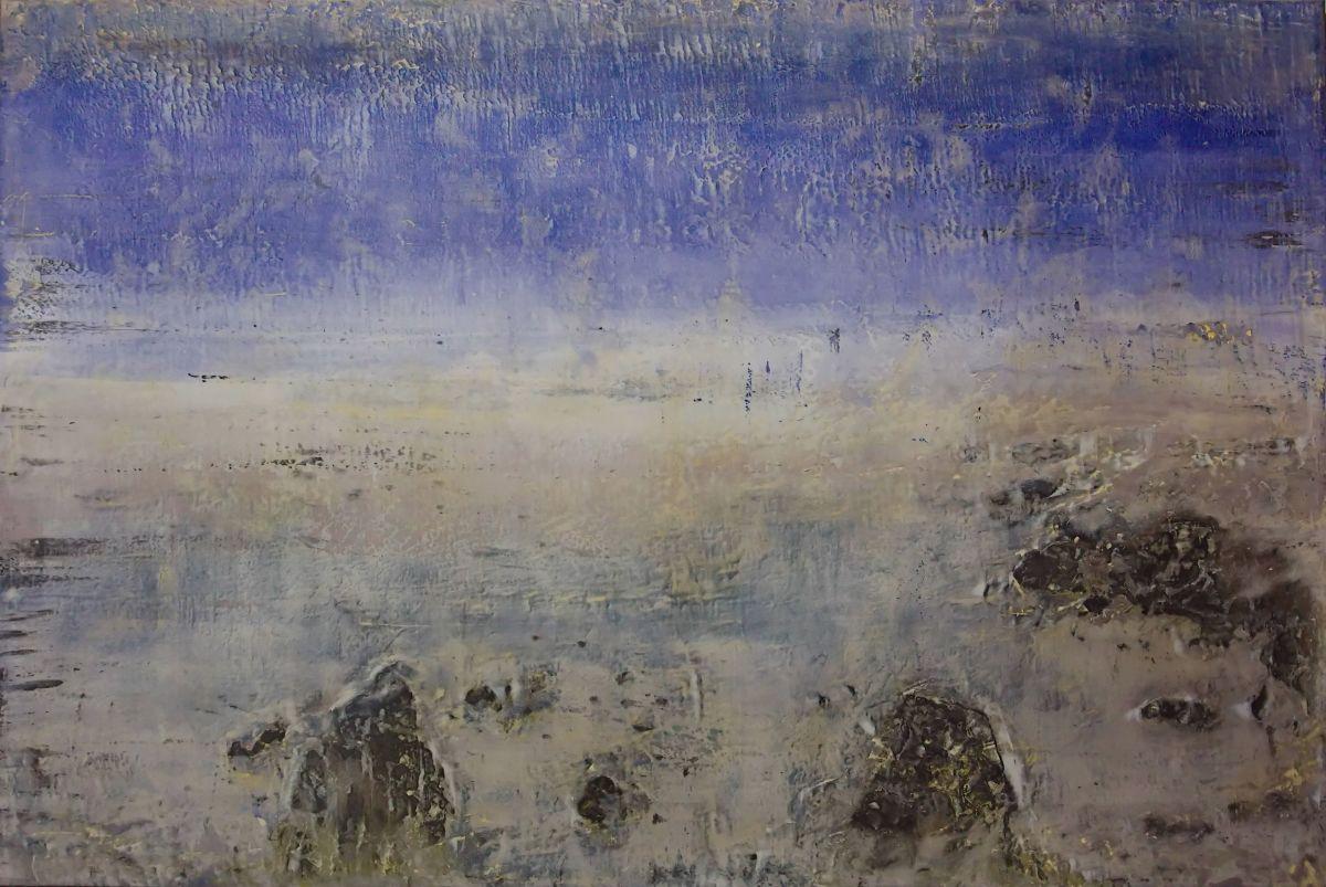 Nishi (West) by Bernard Weston