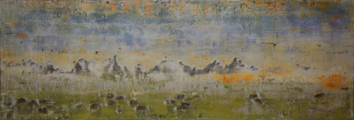 Wahinjhe (Snowing) by Bernard Weston