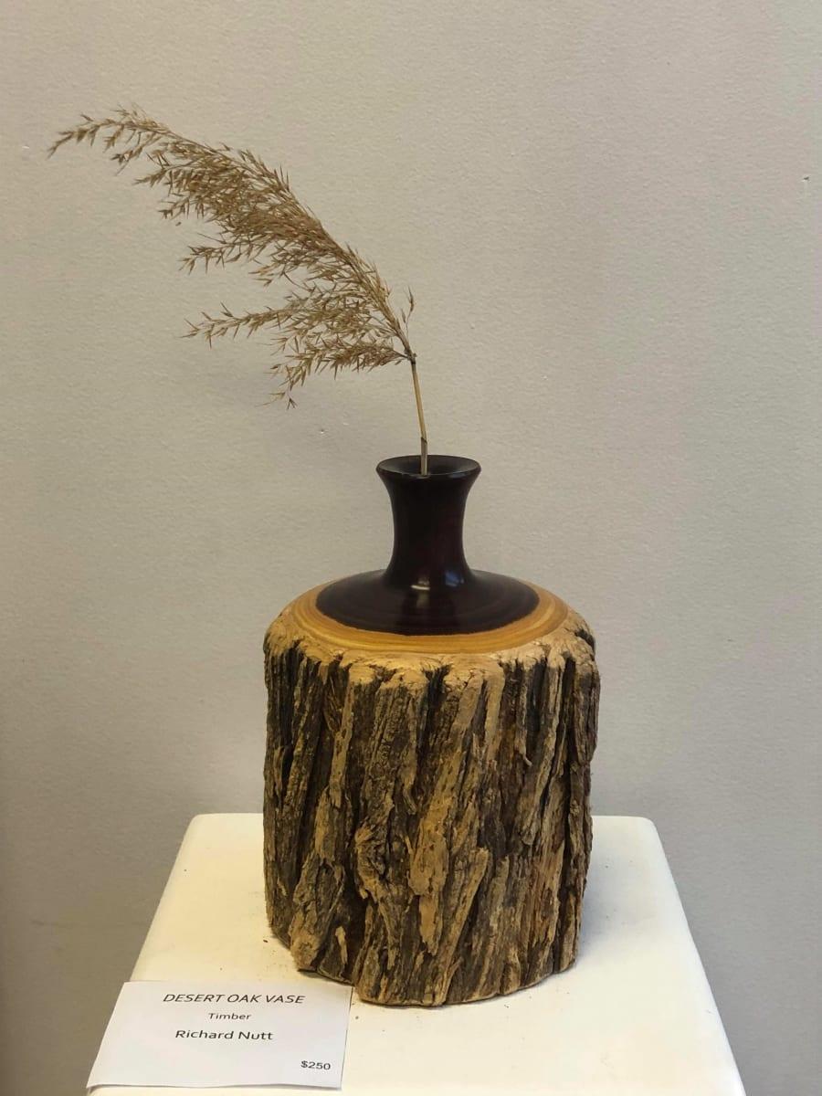 Desert Oak Vase by Richard Nutt