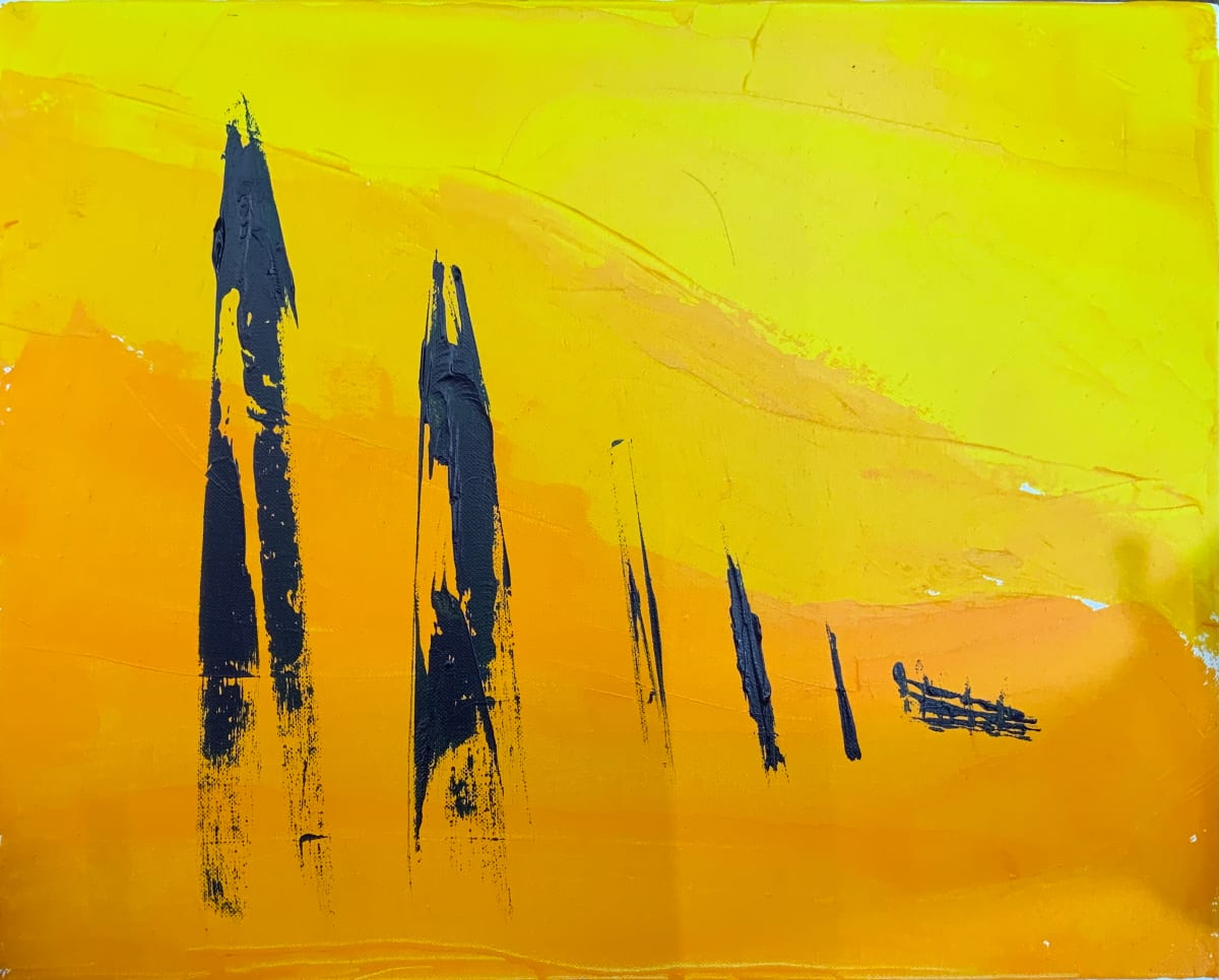 orange mist sentenials by Paige Zirkler