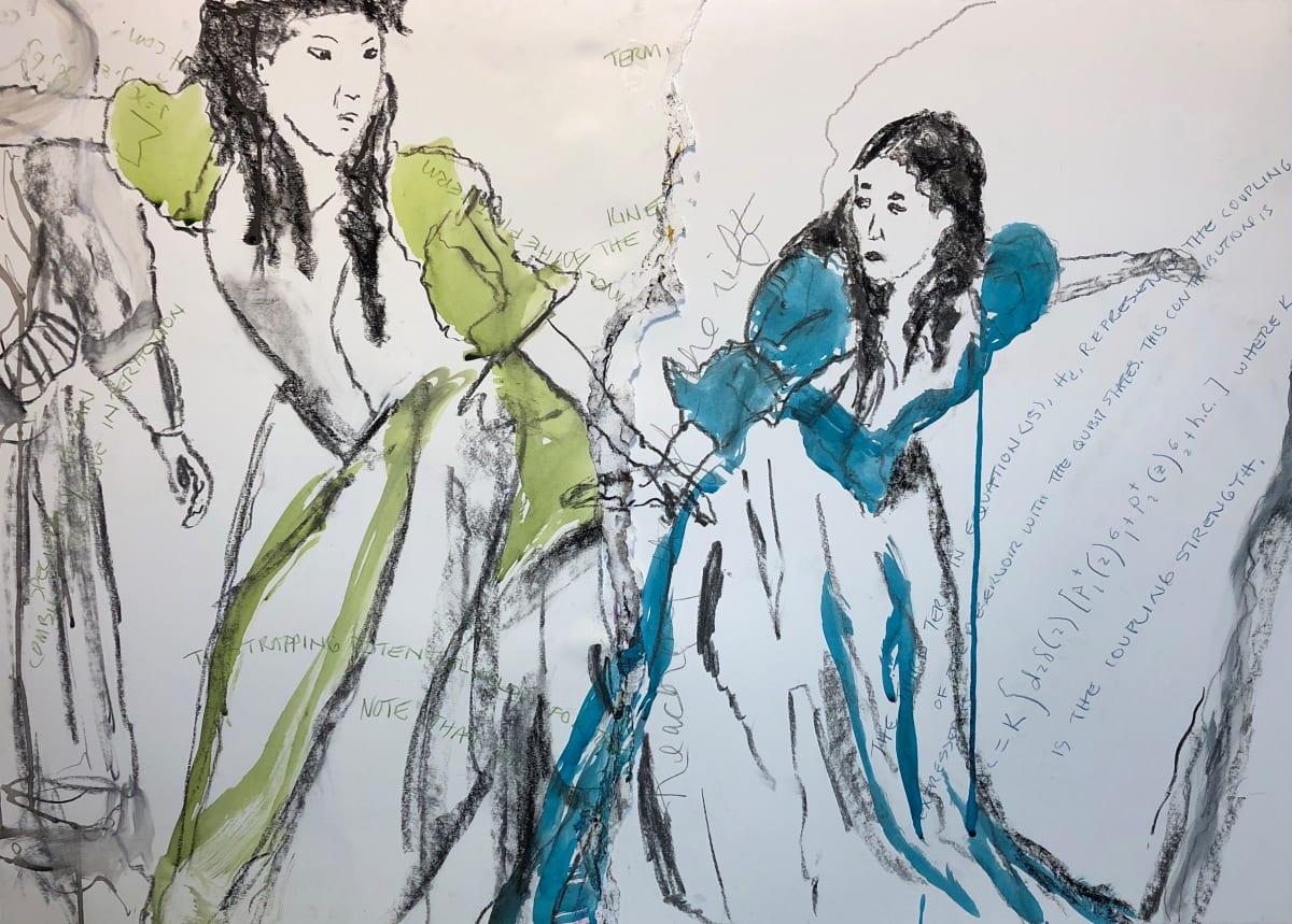 Reaching through the rift. by Ara-Lucia