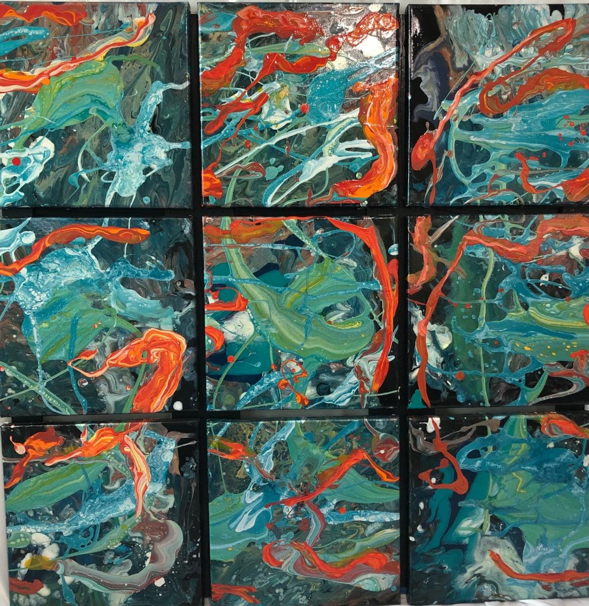 Green Mix by Susan Soffer Cohn