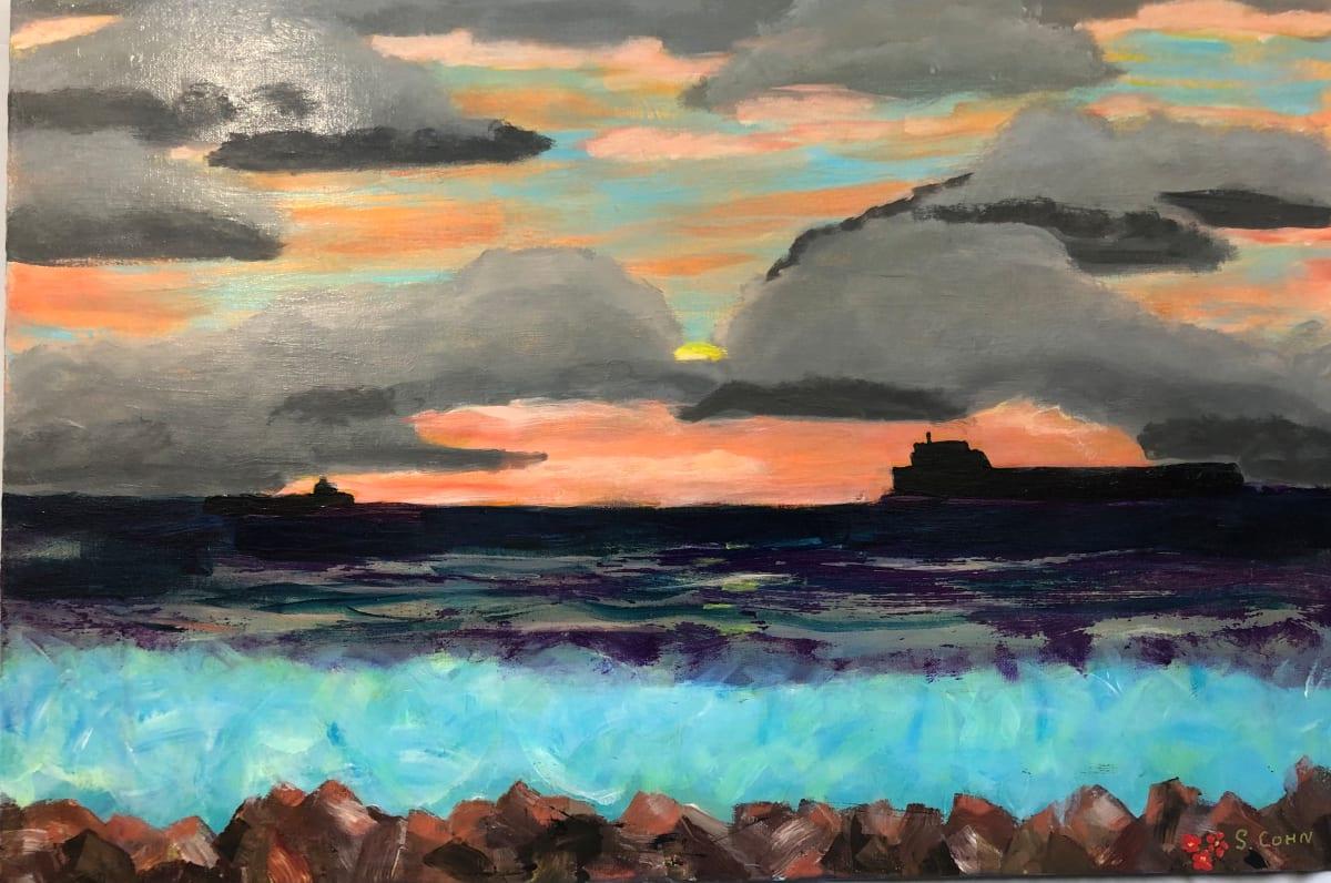 Sunrise Newcastle by Susan Soffer Cohn