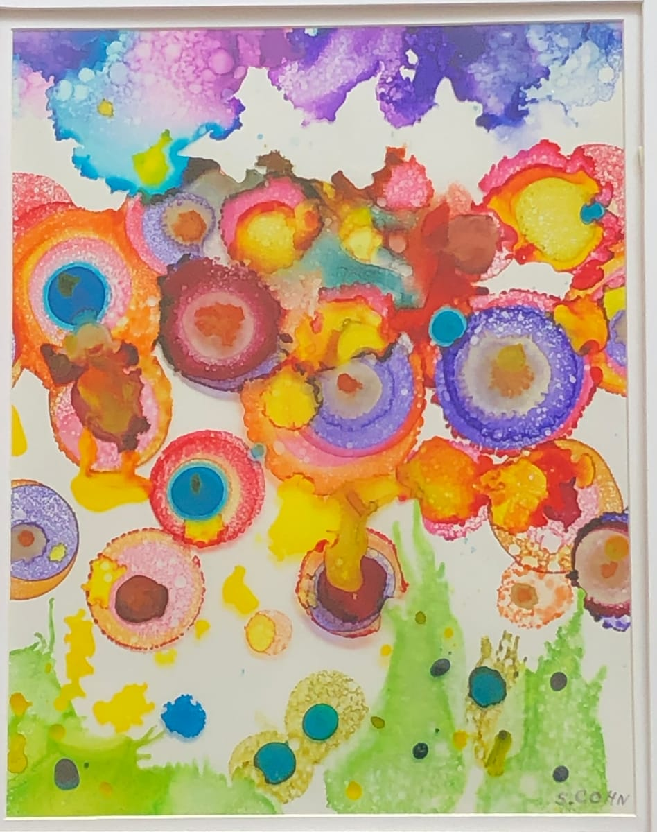 Raining Poppies by Susan Soffer Cohn