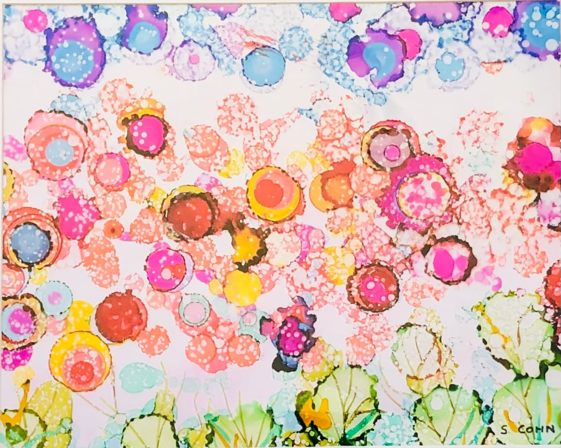 Pink Blooms by Susan Soffer Cohn