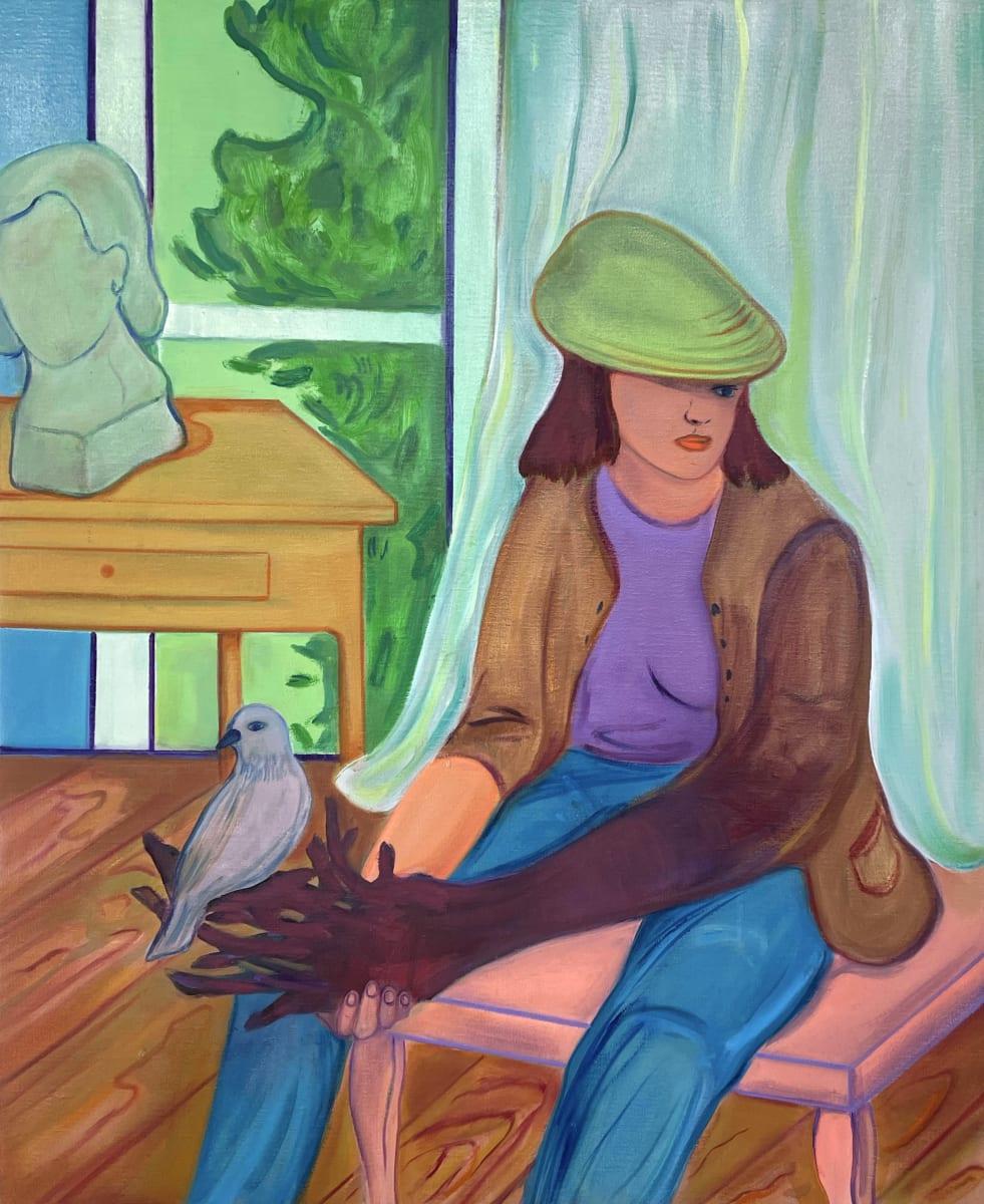 Behind The Curtains by Nastaran Shahbazi