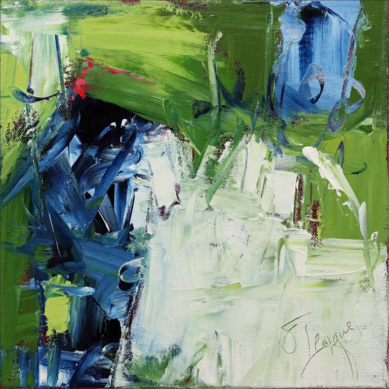 Green Pastures Still Waters 1 by Nancy Teague