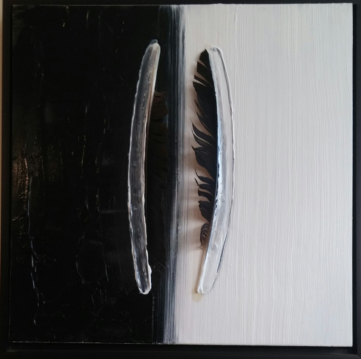 Crow Swish Caw Silence by HB Barry Strasbourg-Thompson BFA
