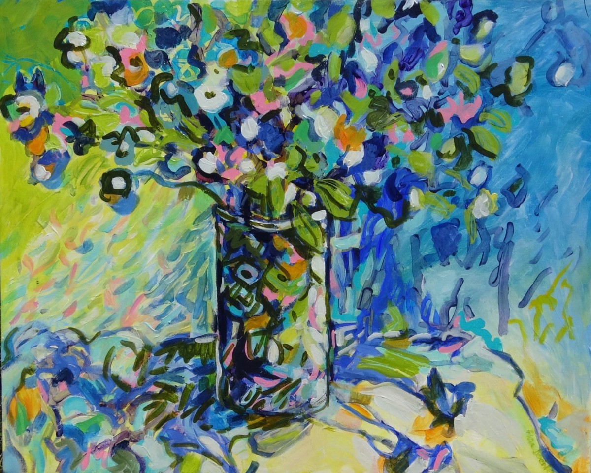 Blue Afternoon by Flora Doehler