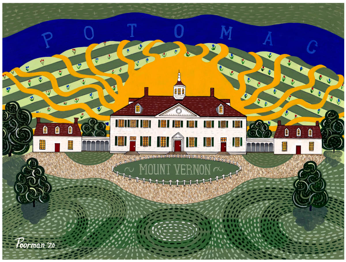 Mount Vernon Sunrise by Kevin Poorman