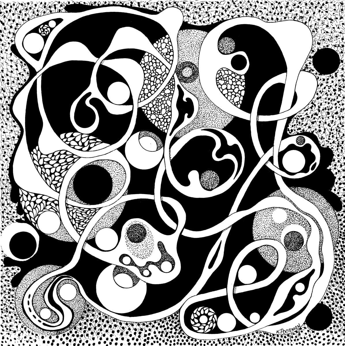 Tangles I by Kevin Poorman