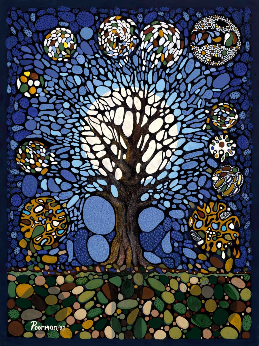 Tree of Life -- Midnight by Kevin Poorman