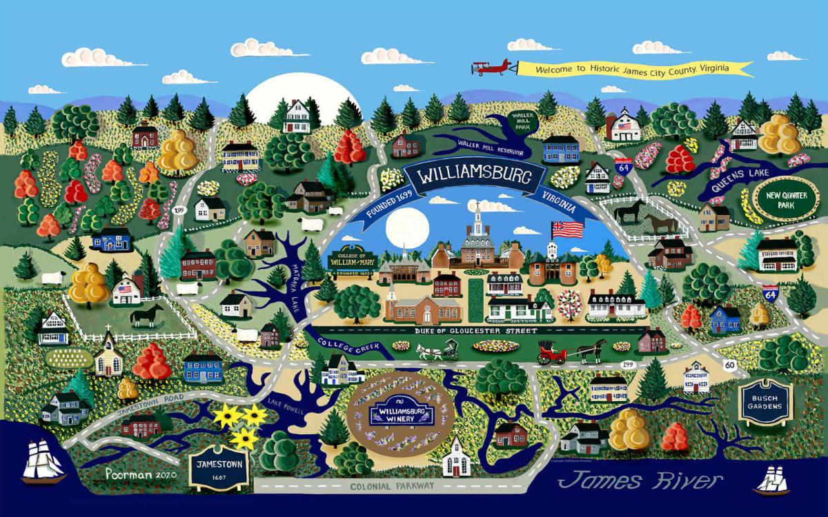 Williamsburg by Kevin Poorman