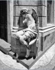 Angel, Buenos Aires by Larry Hanelin