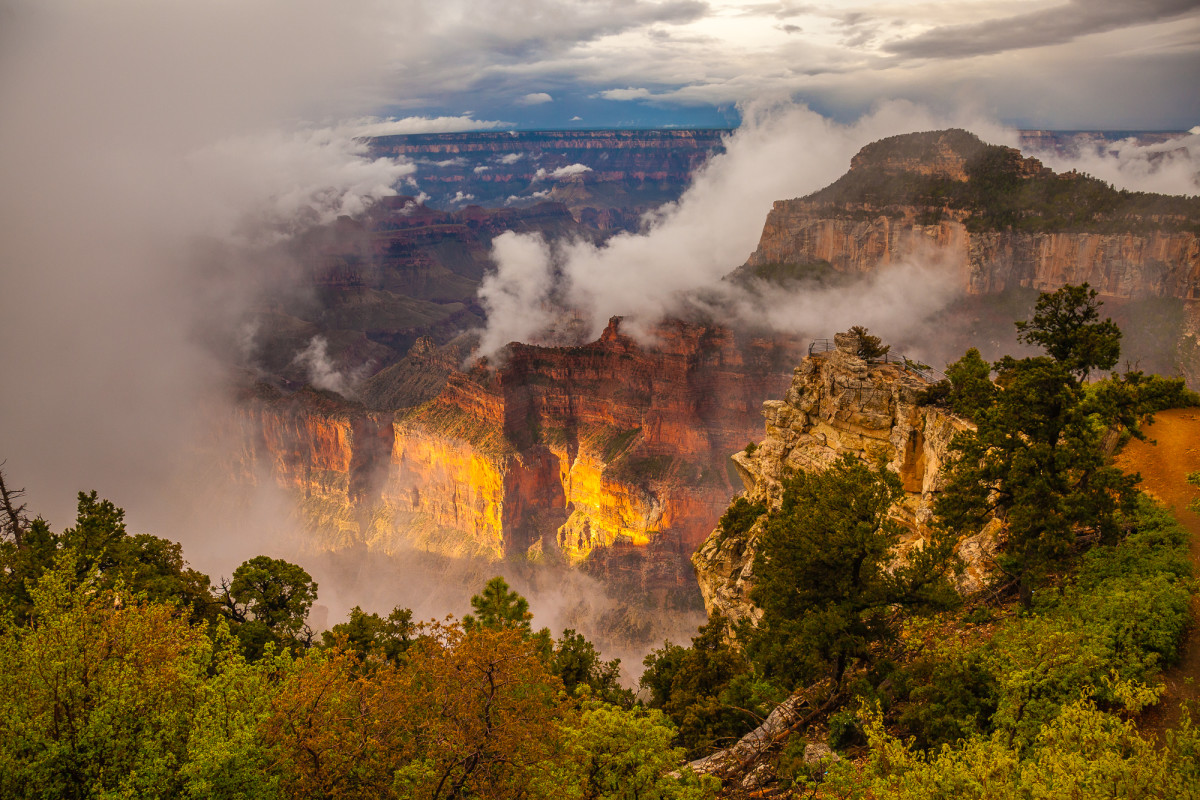 After the Storm - Grand Canyon