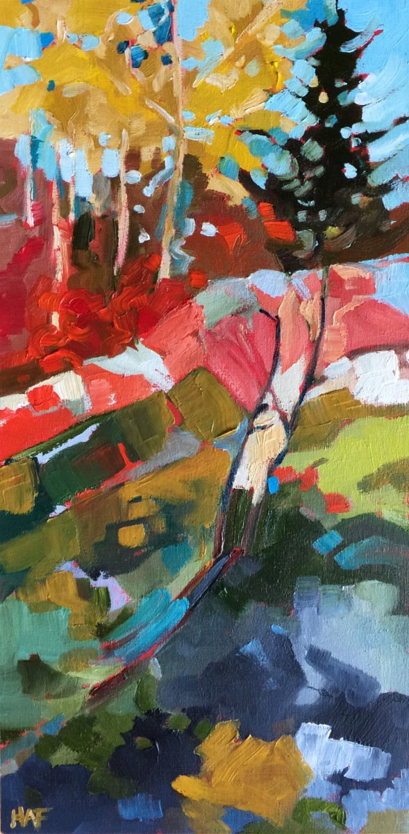 Fall Rocks by Holly Ann Friesen