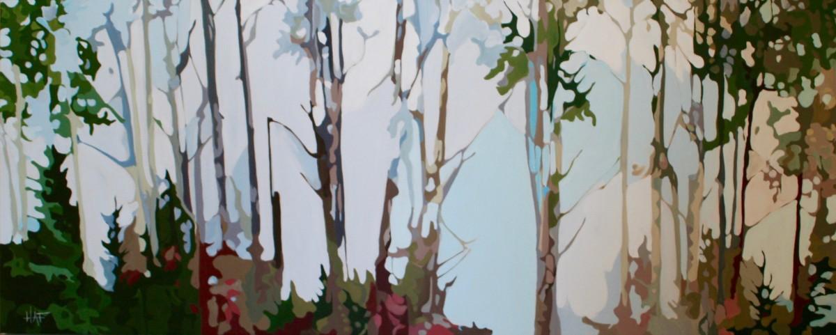 Forest Light by Holly Ann Friesen