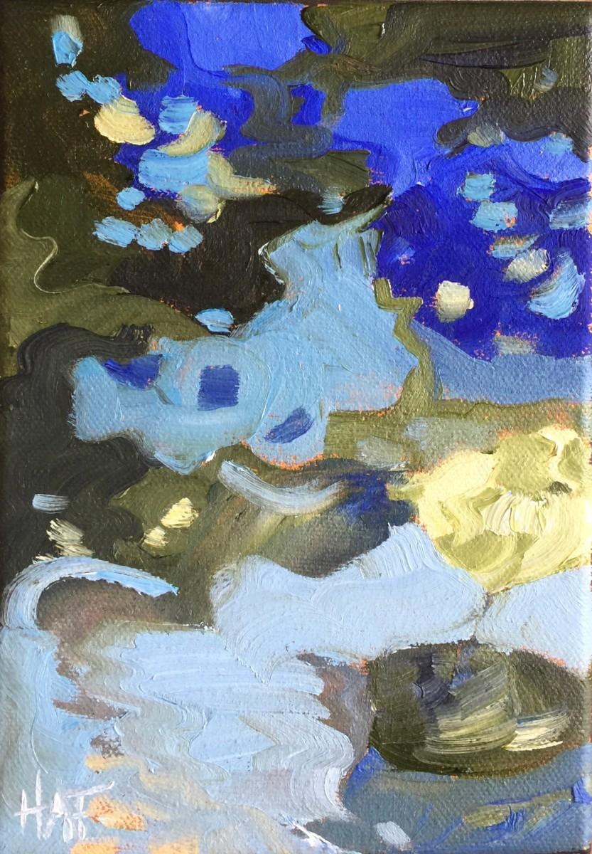 Waterlilies in the Marsh 1 by Holly Ann Friesen