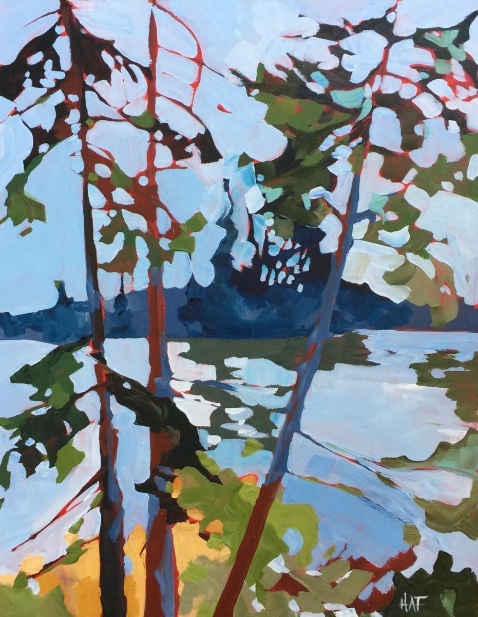 Forest Filter  by Holly Ann Friesen