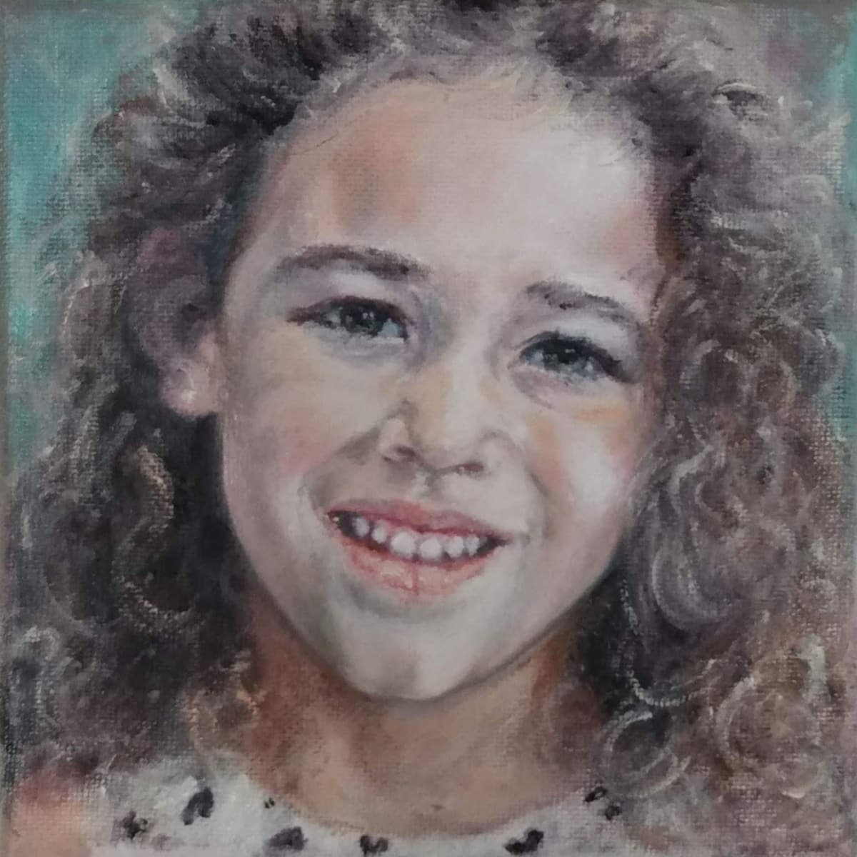 Commission of Grandaughter by Jill Cooper