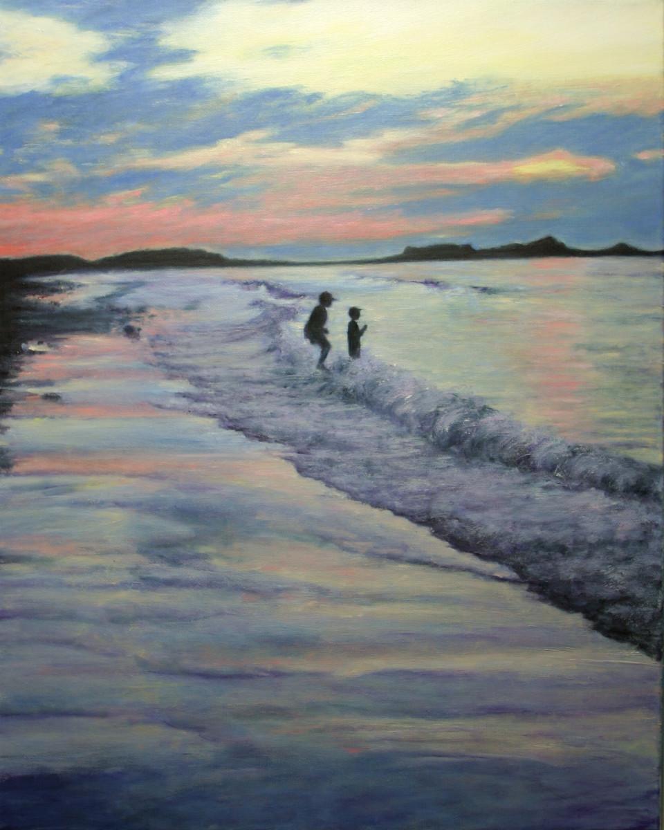 Sunset Frolic by Jill Cooper