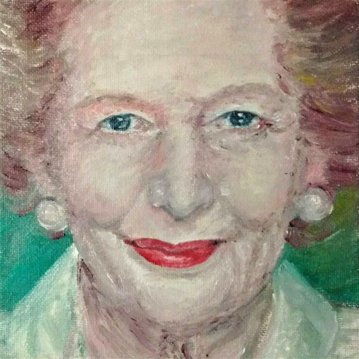 Margaret Thatcher by Jill Cooper