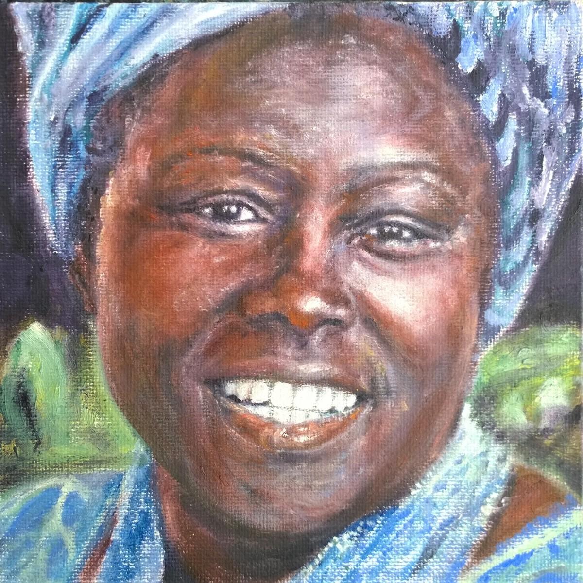 Wangari Maathai by Jill Cooper
