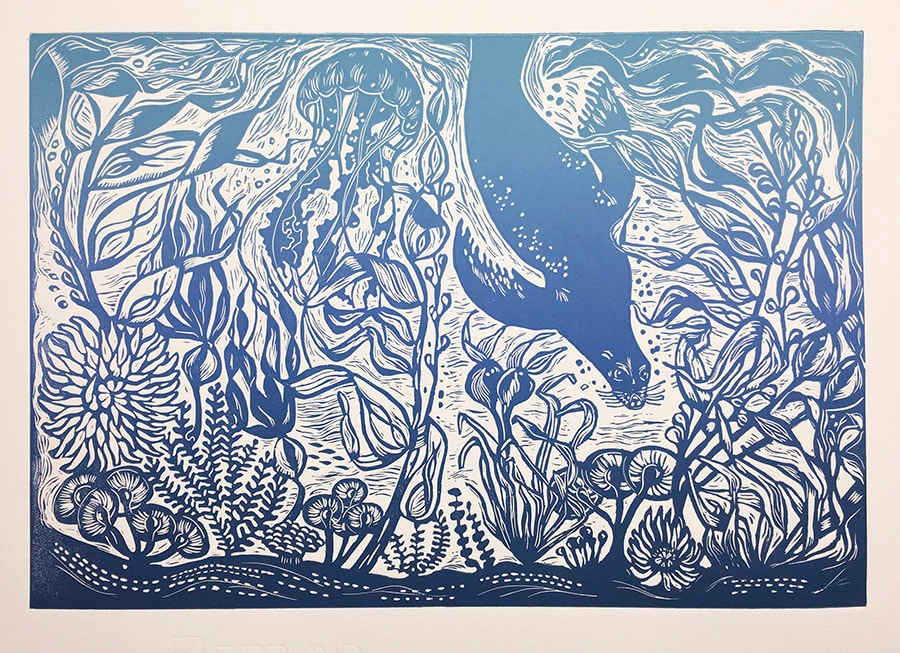 In The Kelp Forest by Carolyn Howse