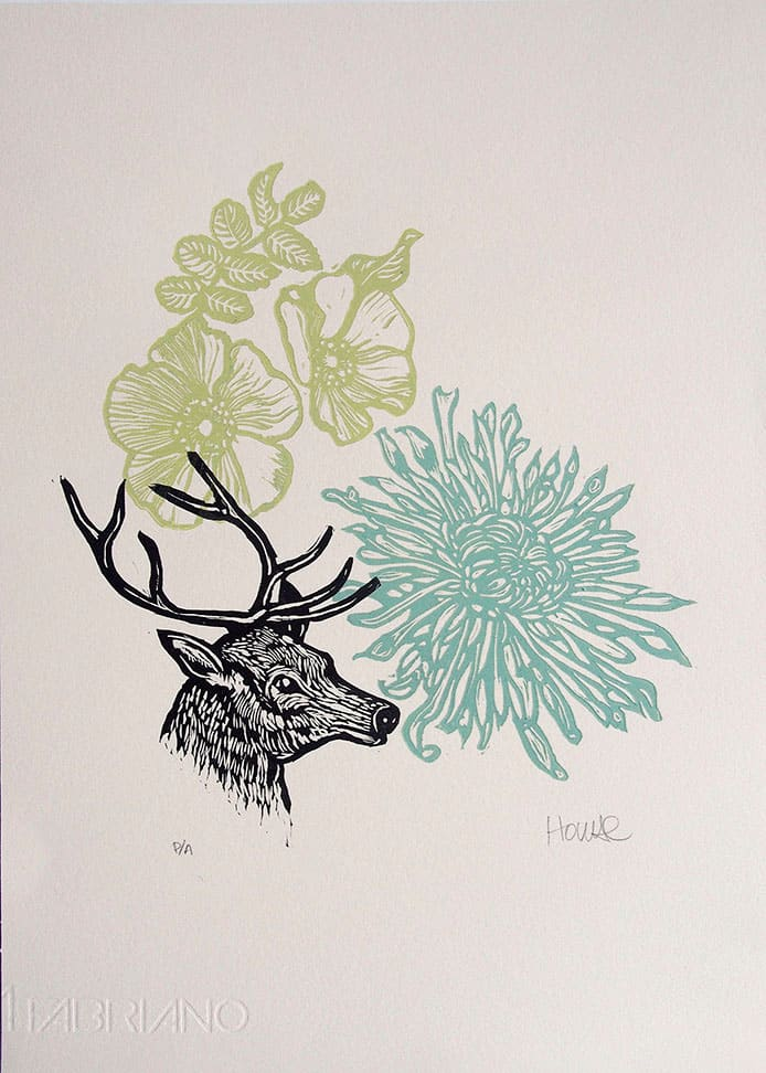 The Stag by Carolyn Howse