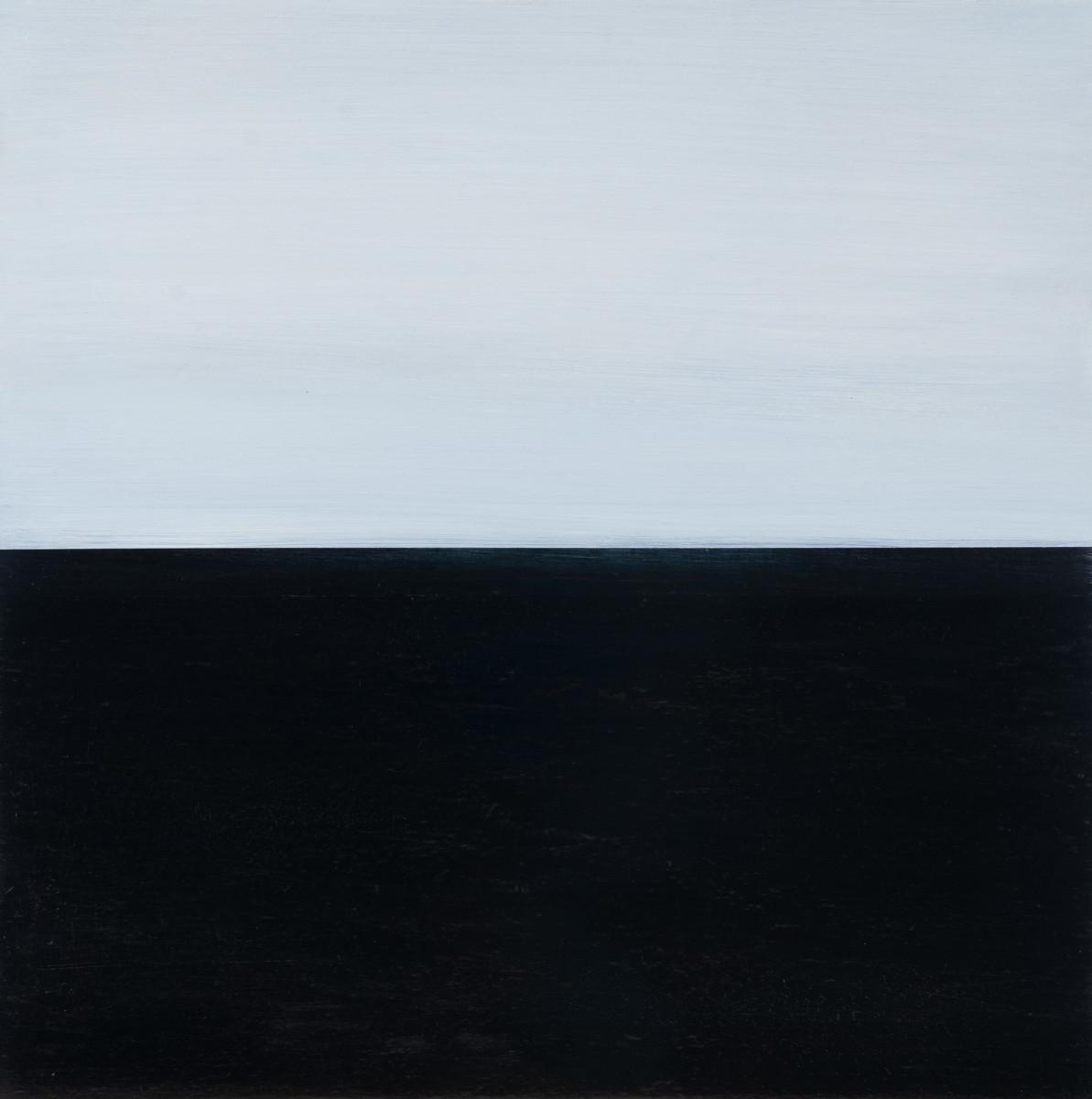 Waves&Horizons Graphite 13 by Claudia De Grandi